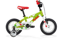 Ghost Powerkid 12 Kinderfiets Kinderen groen